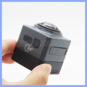 360 Mini Sports Action Camera 1280p 360-Degree Panoramic Camera Build-in WiFi pictures & photos