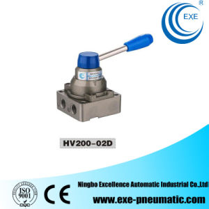 Exe Solenoid Valve Manual Rotation Valve Hand Switch Valve (HV200-02D) pictures & photos