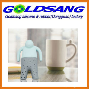 Cozy Life Easy to Make Lazy Mr. Tea Silicone Tea Infuser pictures & photos