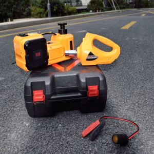 Blue Color Multifunction Electric Car Jack Set with Impact Wrench and Inflating Air Pump pictures & photos