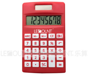 8 Digits Dual Power Pocket Calculator with Various Optional Colors (LC331) pictures & photos