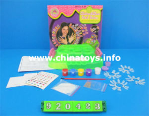 DIY Girl Nail Salon Plastic Accessories Toy (920423) pictures & photos