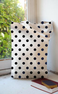 Fashion Dots Ladies Shopping Bag with Handles (HC0015060301) pictures & photos