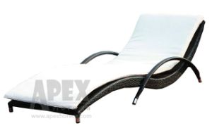 Outdoor Furniture Sunbed Poolside Rattan Sun Lounger Patio Furniture pictures & photos