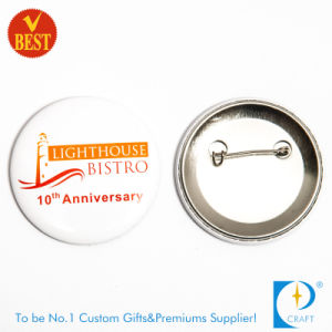 Factory Price Customized Logo Souvenir Printed Button Badge for Anniversary or Publicity pictures & photos