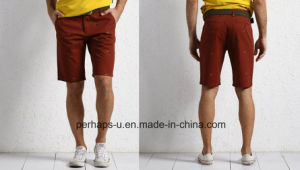 Cool Mens Print Chinos Cotton Shorts pictures & photos