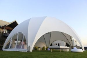 Big White PVC Waterproof Aluminum Frame Wedding Party Event Tent pictures & photos