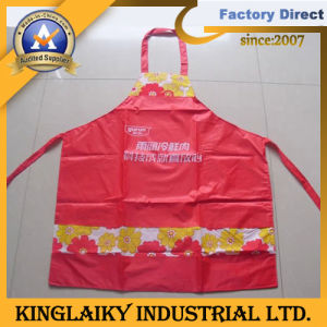Polyster Apron with Screen Printing Npvc-1002 pictures & photos