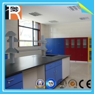 Fireproof Solid Laminate Chemical Resistant HPL for Lab Counter Top and School Personal Laboratory Top pictures & photos