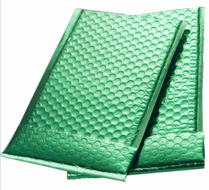 Metallic Green Bubble Shipping Gift Bags pictures & photos