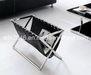 Soft PU Magazine Shelf for Hotel Furniture, Home Furniture pictures & photos