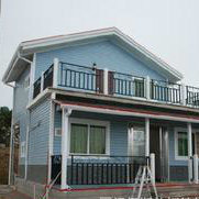 Prefab Shipping Modified Steel Structure Villa pictures & photos