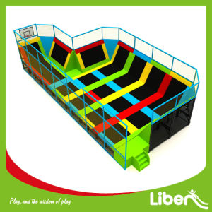 New Professional Manufacturer Rectangular Trampoline for Teenager pictures & photos