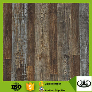 Wood Texture Covering Decorative Wallpaper with Cheap Price
