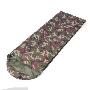 Warm Winter Camouflage Thick Envelope Sleeping Bag