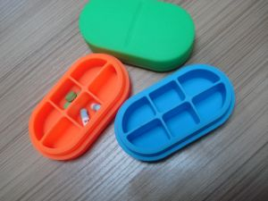 OEM New Design Hot Selling Silicone Pill Box pictures & photos