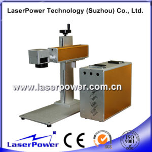 Air Cooling Economical Desktop Metal Fiber Laser Marking Machine Price