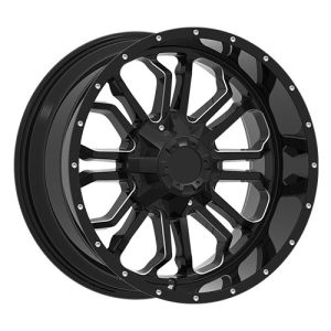 SUV Alloy Wheels Milling Window Large Caps pictures & photos