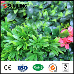 UV Protected Plastic Artificial Green Garden Leaf Fence pictures & photos