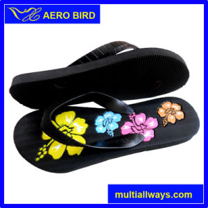 High Quality PE Slipper for Woman (15I278) pictures & photos