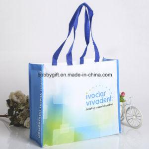 Reusable PP Woven Handle Shopping Bag pictures & photos