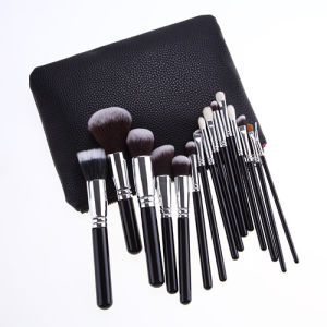 Fashion Brand 15 Pieces Professional Makeup Tools Beauty School Bakeup Brush