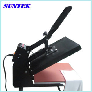High Quality E-Magnet Automatic Open Heat Press Machines pictures & photos