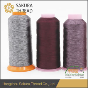Free Sample Multicolored Polyester Thread with Oeko-Tex100 1 Class pictures & photos