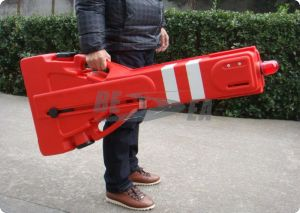 Portable Aluminum Metal Road Barrier pictures & photos