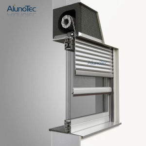 Aluminum Rolling Door and Window with Roller Shutter Motor pictures & photos