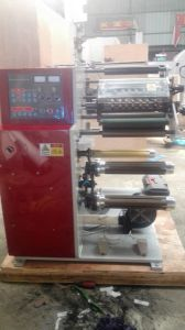 Slitting machine with Turrnet Two Rewinding Shaft pictures & photos