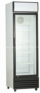 Upright Glass Door Commercial Refrigerator for Sale pictures & photos