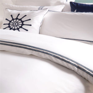 Customized Cheap Brush Cotton Bedding Sets for Hotel Apartment pictures & photos