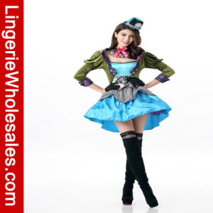Hot Selling Women′s Sexy Magician Cosplay Custome