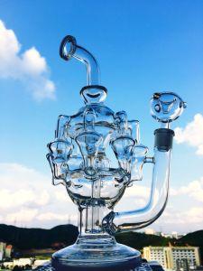Princess Nikki Mothership Recycler Glass Water Pipe pictures & photos