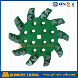 10inch Diamond Grinding Disc, Grinding Concrete Floor pictures & photos