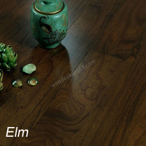 Multiply Elm Engineered Hardwood Flooring with Stain Color Flat and Handscraped Wood Flooring
