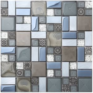 Factory Direct Sale Glass Mosaic Tile with Best Price (AJ2A1609) pictures & photos