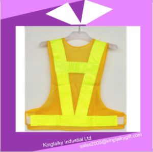 Safety Product Simple Vest with Logo Branding Ksv017-005 pictures & photos