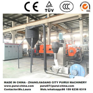 Low-Energy Plastic Recycling and Pelletizing Machine for Crushed Flakes/Regrinds pictures & photos
