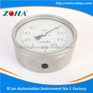 High Quality Stainless Steel Pressure Gauge pictures & photos