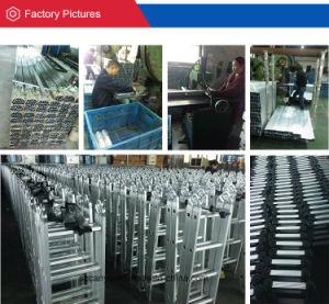 2.6m/3.2m/3.8m/4.4m En131-6 Telescopic Ladder, Aluminum Step Ladder, Ladder Aluminum pictures & photos