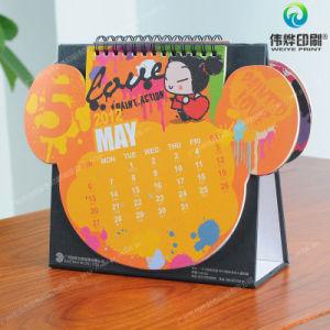 Cute Design Paper Printing Desk Calendar pictures & photos