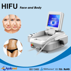 Portable Salon Use Hifu Machine / Wrinkle Removal pictures & photos