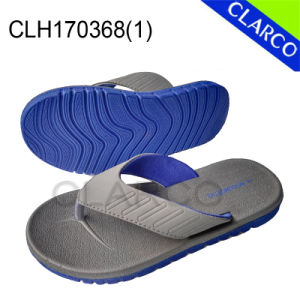 PE Sole Slipper Flip Flop with PVC Thongs pictures & photos