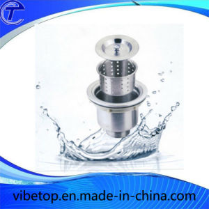 Kithcen Sink Stainless Steel Basket Strainer (SD-02) pictures & photos