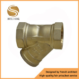 Y Type Gas Brass Filter with Dn50/40 pictures & photos