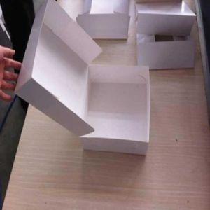 Pizza Box Making Machine & Gluer Folder with Four Six Corner Box (GK-PCS) pictures & photos