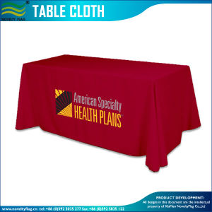 180GSM-200GSM Spandex Knitted Ultra Fitted Table Cloth Cover (B-NF18F05020) pictures & photos