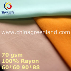 Plain Rayon Fabric for Woman Textile (GLLML440) pictures & photos